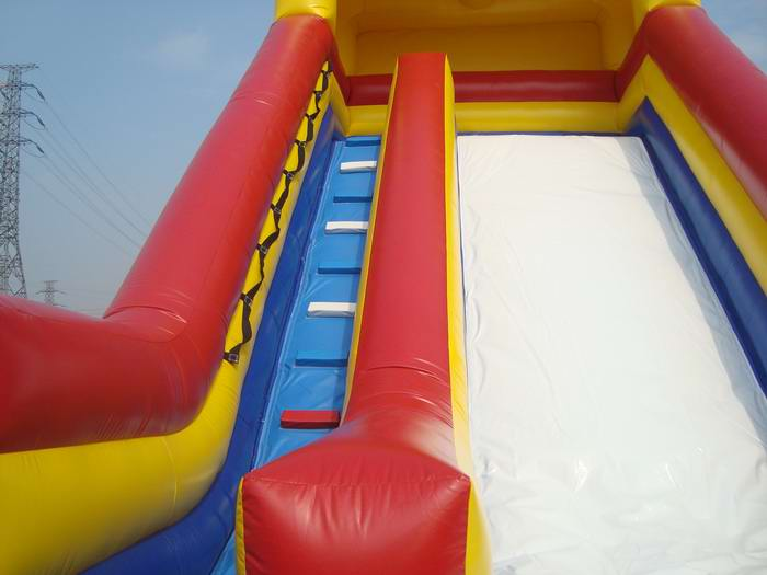 classic inflatable slide