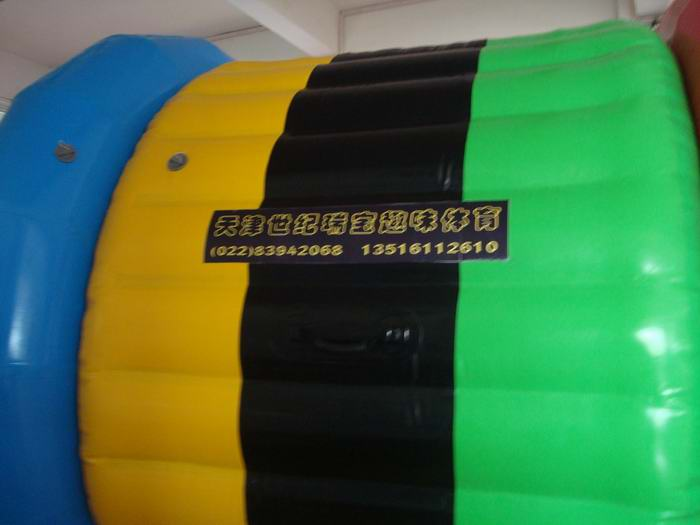 water roller inflatable water game