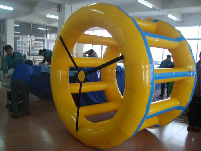 water roller inflatable wheel