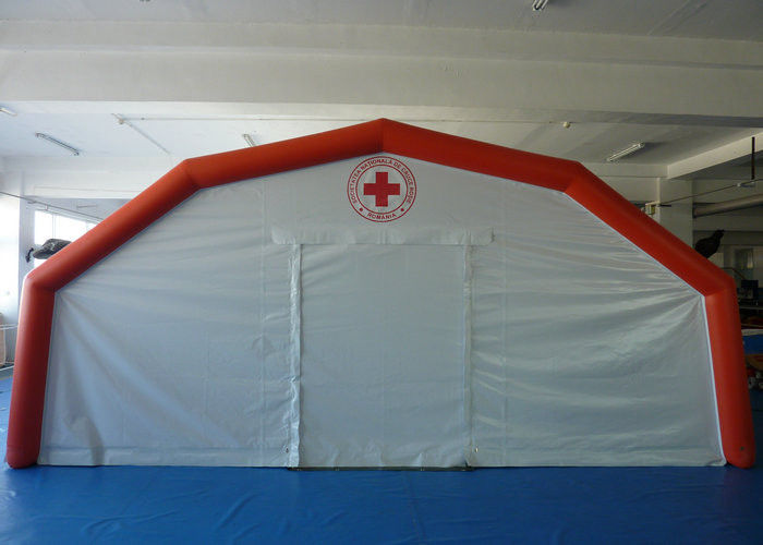 inflatable refugee tent