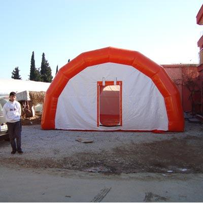 inflatable mobile hospital