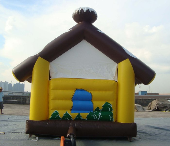 cabin inflatable-back