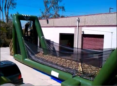Yolloy Inflatable Zip Line For Zip Lining Adventures