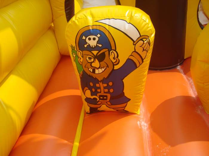 inflatable pirate ship details
