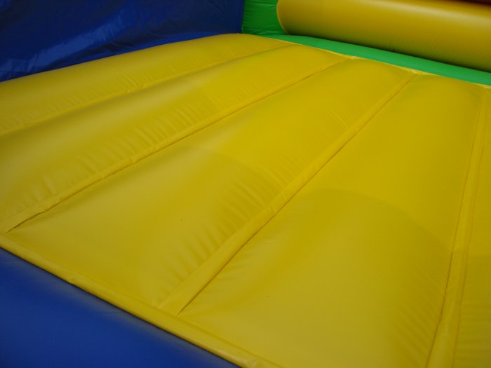 rainbow bounce house details
