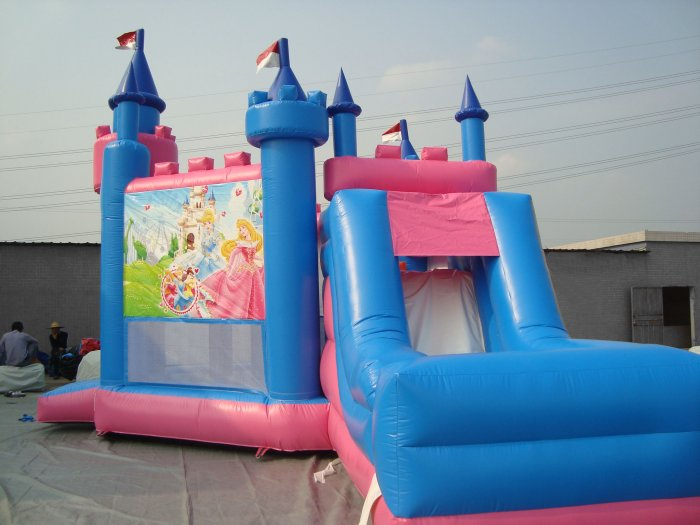 Princess party castle details