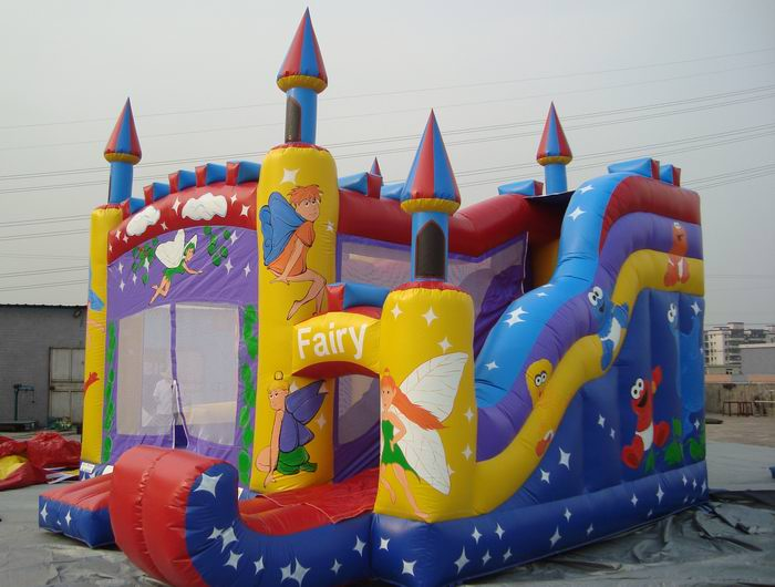 fairy inflatable castle