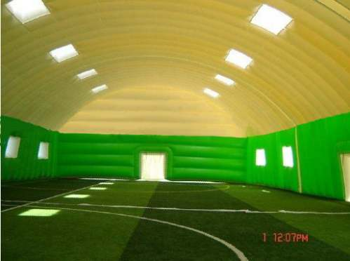 inflatable sports hall