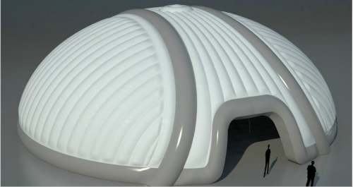 Yolloy White Inflatable Domes Air Tent House Structure For