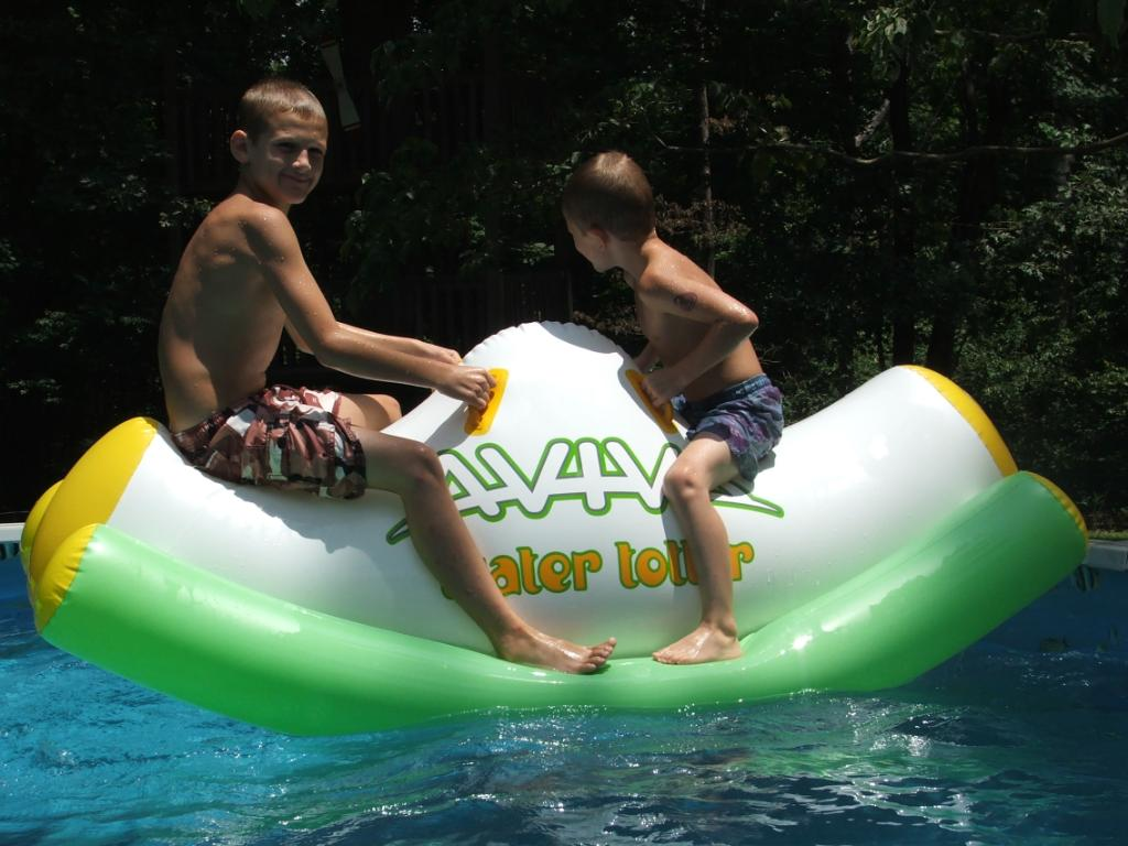 inflatable teeter totter