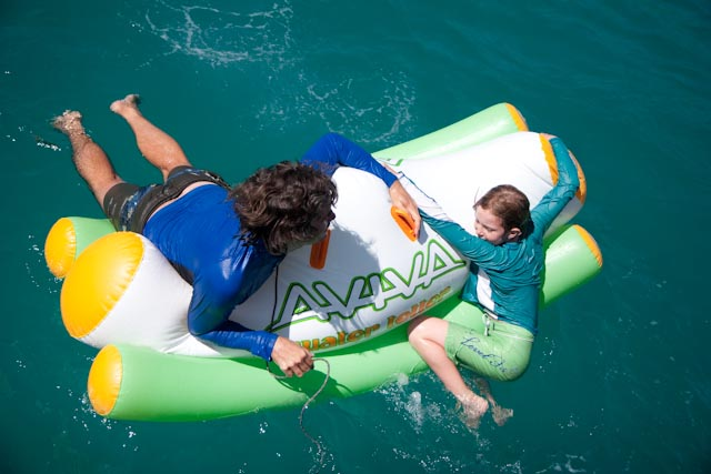 water toys inflatable totter teeter