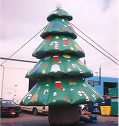 6m Christmas inflatable tree