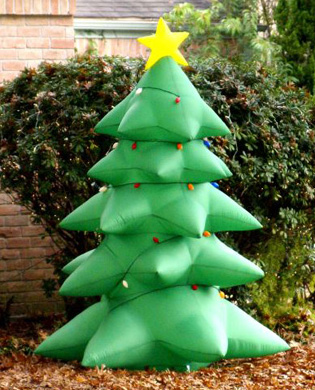 Awesome Christmas Tree Inflatable Outdoor Yard Christmas Tree Decoration ...