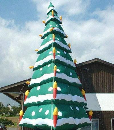 High Xmas inflatable tree
