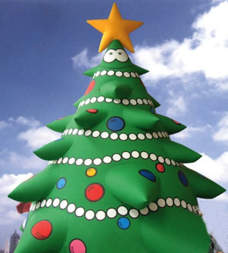 Yolloy blow up outdoor inflatable christmas tree for sale
