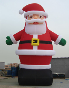 Santa clause inflatable