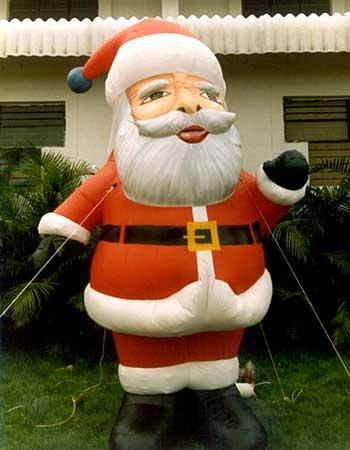 Inflatable Santa Claus Giant Santa ...