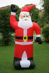 Inflatable Christmas decoration