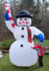 Yolloy Blow Up Snowman For Sale