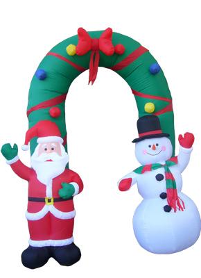 Yolloy Blow Up Snowman Decoration For Sale