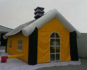 inflatable outdoor cabin lodge