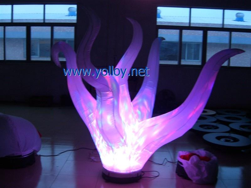 inflatable fire decoration