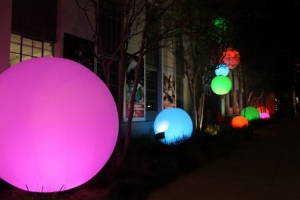 inflatable lighting decoration sphere
