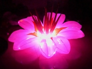 inflatbale lighting flower
