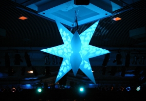 inflatable light star
