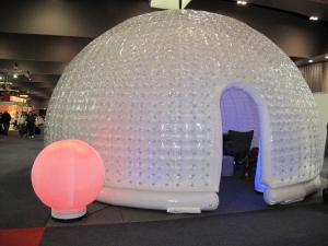 inflatable igloo for event decoration