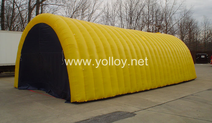 Inflatable Concrete Tent : Yolloy inflatable spray booth workshop shelter tent for sale