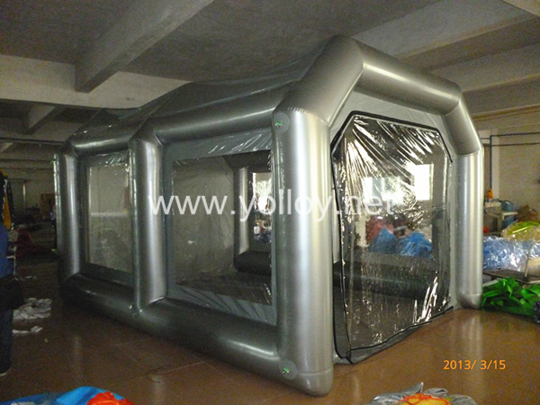 Garage Portable Paint Booth : Yolloy portable garage painting workstation shelter