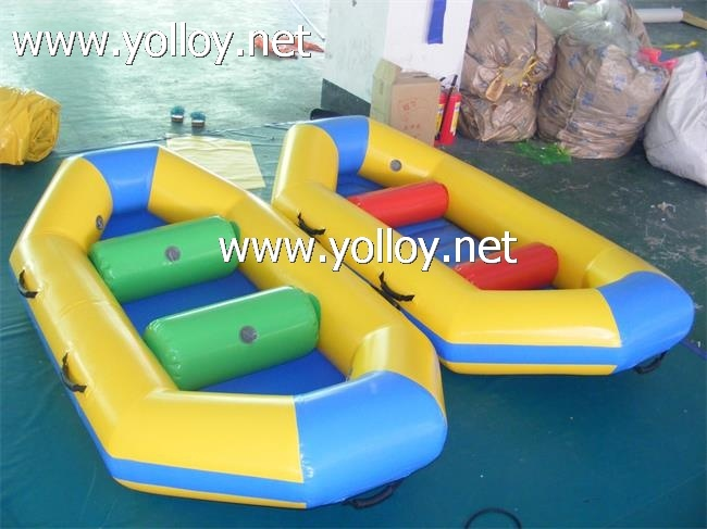 Green boat for one fish boat play inflatable boat