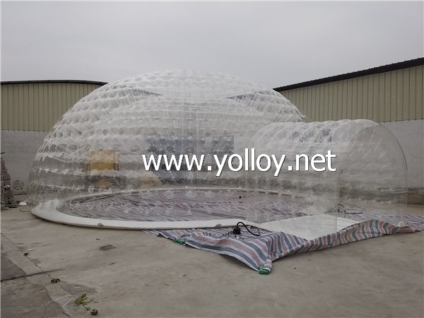 clear Inflatable event dome