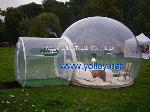 Inflatable Camping Clear Tent