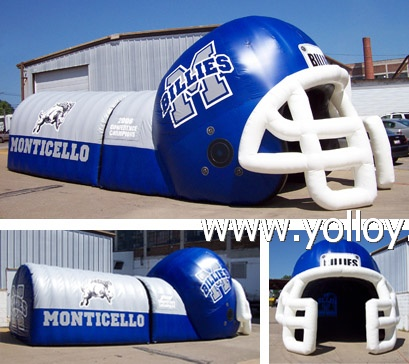Helmet Sports Tunnel Tent