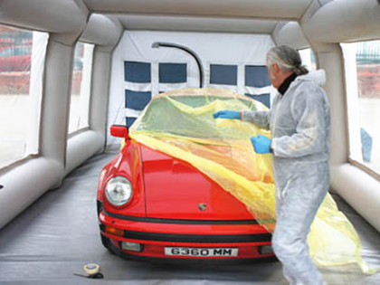 Portable Inflatable Car Spray Painting Tent