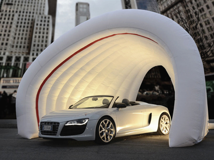 Inflatable Car Tent For Show