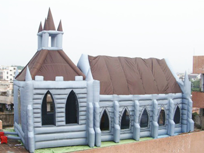 Outdoor Castle Party Tent
