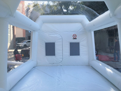 Clear Inflatable Car Painting Tent