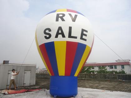 Felfújható reklám ballon