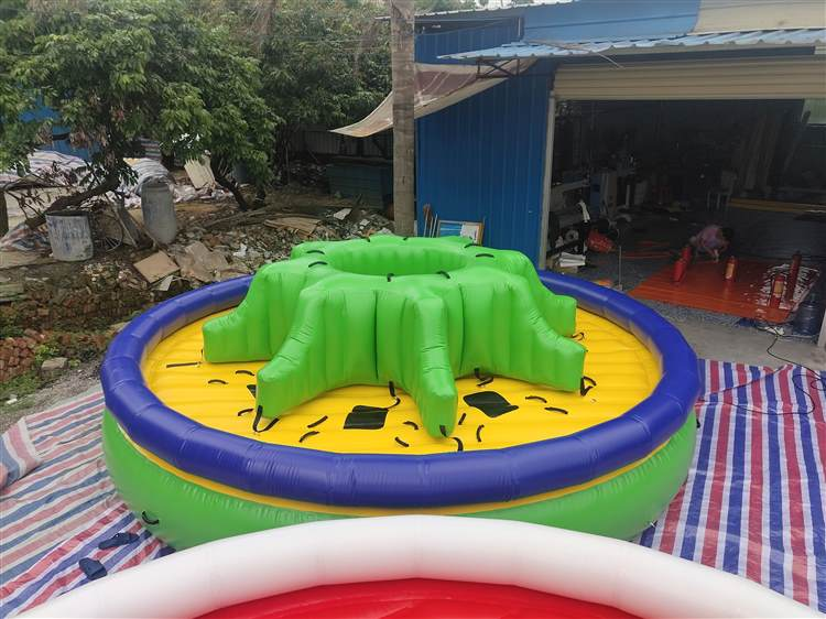 Inflatable towable Twister