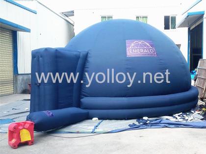 Przenośny namiot kopułowy do planetarium
