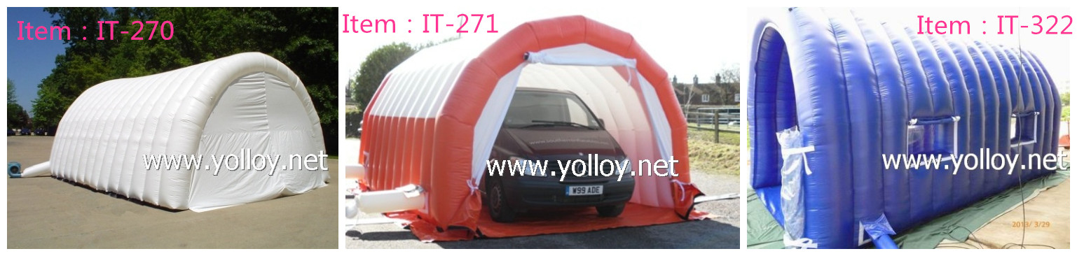 inflatable workstation tent