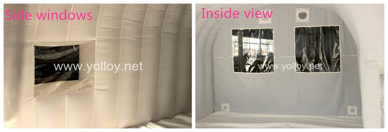 inflatable car storage tent- details