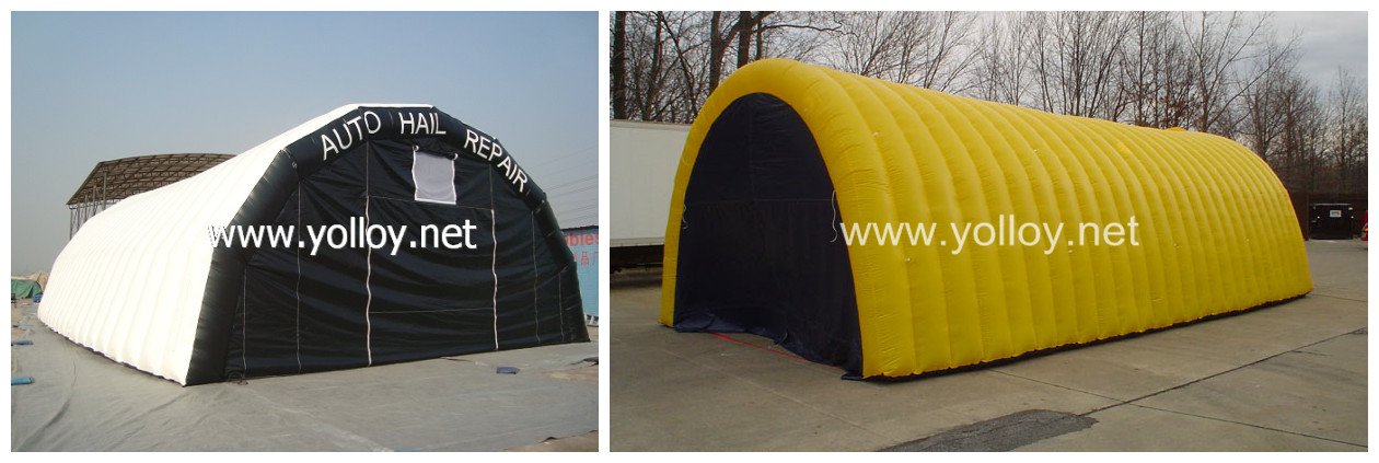 inflatable repair garage