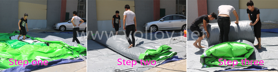 how to pack inflatable tent
