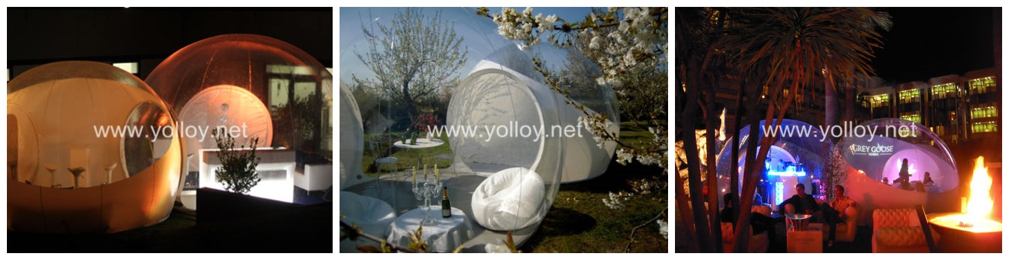bubble tree clear tent inflatable for starry night
