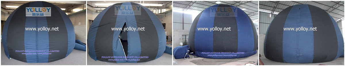 inflatable mobile planetarium dome