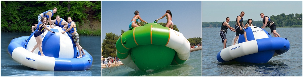 inflatable water Satum rocker